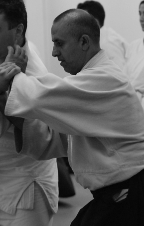 Ramin Arvin, senior instructor at Naka Ima Aikido