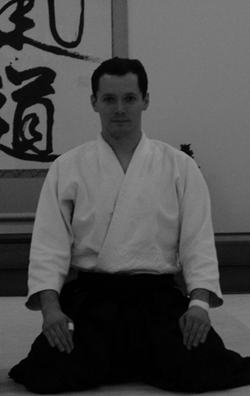 Ben Peacock, instructor at Naka Ima Aikido
