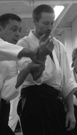 Jesse Brown,` children`s Aikido instructor at Naka Ima Aikido