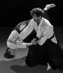 Robert Bergman, instructor at Naka Ima Aikido