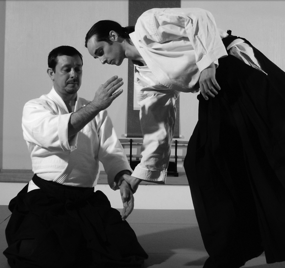 Sensei Greg Angus, chief instructor at Naka Ima Aikido